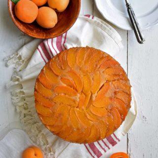 Apricot Upside Down Cake - Pepper Delight #pepperdelightblog #recipe #cake #apricots #desserts #summerrecipes #celebration #christmas #easter #upsidedowncake #apricotupsidedowncake #summer #fruitcake