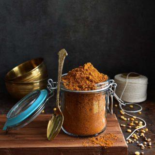 Sambar Powder - Pepper Delight #pepperdelightblog #recipe #sambar #sambarpowder #keralasambar #homemadesammbarpowder #celebration #onam #sadya #vishu #kerala #nadan #holidayrecipes #podi #sambarpodi #spices #condiments