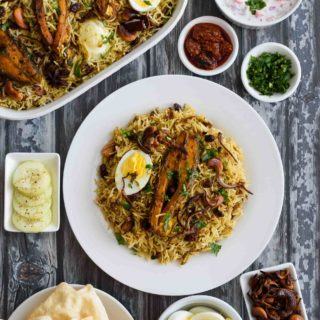 Fish Biriyani- Pepper Delight #pepperdelightblog #recipe #biriyani #fishbiriyani #keralafood #keralastylefishbiriyani #nadanfood #indianrecipes #ricerecipes #meenbiriyani #pompano #seafood #fishrecipes