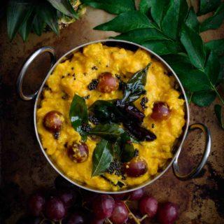 Madhura Curry- Pepper Delight #pepperdelightblog #recipe #madhuracurry #pineapplecurry #keralafood #onam #nadanfood #indianrecipes #vishu #sadyarecipes #pachadi #vegeterian #festivalrecipes #sidedish