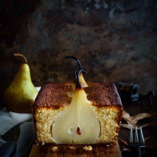 Pear Loaf Cake- Pepper Delight #pepperdelightblog #recipe #pearcake #loafcake #pear #falldessert #peardessert #pearvanillacake #cake #snacks #baking #holidayrecipes #teacake #festiverecipes